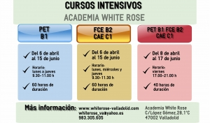 Cursos intensivos abril-junio 2016